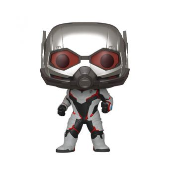 Funko Avengers End Game - Ant Man in Team Suit Pop Bobblehead Figure