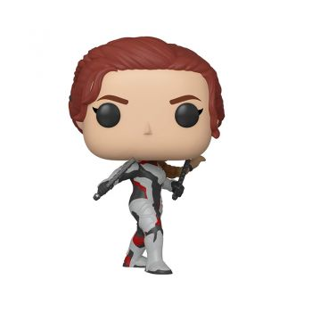 Funko Avengers End Game - Black Widow in Team Suit Pop Bobblehead Figure