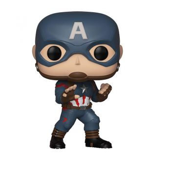 Funko Avengers End Game - Captain America Hot Topic Exclusive Pop Bobblehead Figure