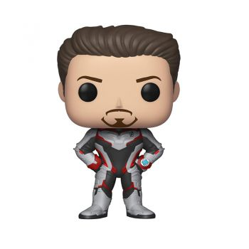 Funko Avengers End Game - Tony Stark in Team Suit Pop Bobblehead Figure