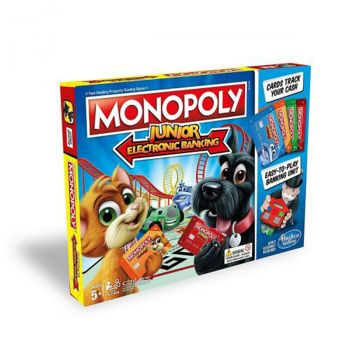 Hasbro Monopoly Junior Electronic Banking Board Game