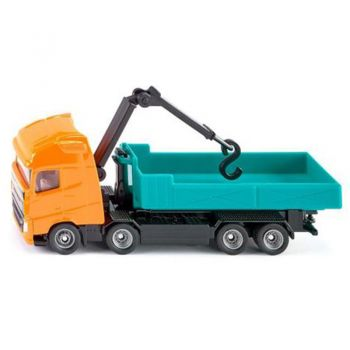 SIKU ROLL-OFF TIPPER WITH CRANE