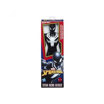 Spider-Man Titan Hero Series Web Warriors Black Suit Spider-Man