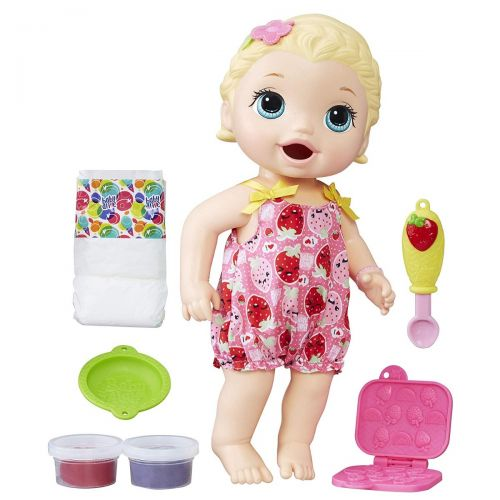 New Baby Alive Super Snacks Reusable Doll Food Accessories Set