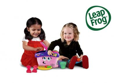 LeapFrog: Amusing and Learning Goes Hand in Hand