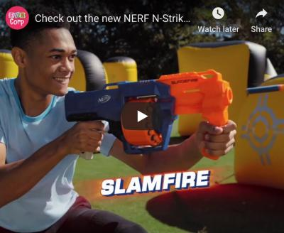 Check out the new NERF N-Strike Elite Surgefire!