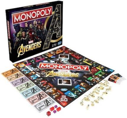 Monopolise your love for Avengers with the Monopoly Marvel Avengers Edition Board Game